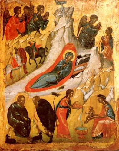 Рожество Христово. Кипр, 2-ая половина XVI в.